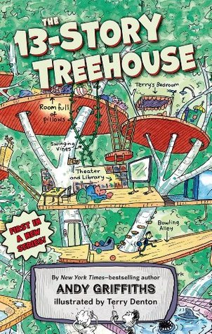 The 13-Story Treehouse by Andy Griffiths