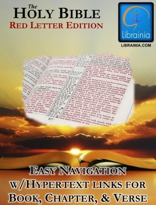 Holy Bible - Red Letter Edition