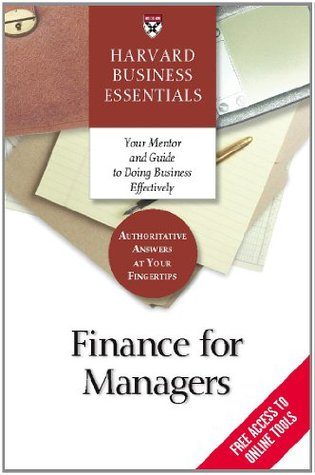 Finance for Managers by Richard Luecke