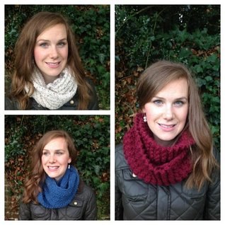 7 Infinity Scarf, Cowl or Snood Knitting Patterns