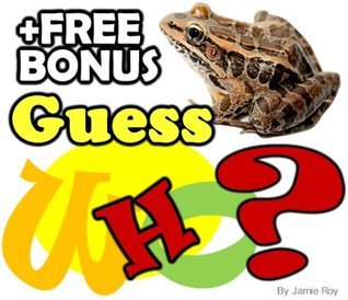 """Guess """"Who Am I"""" Animal Picture Book: Kids Learn about Animals the Fun Way (Free Bonus: 30+ Free Online Kids' Jigsaw Puzzle Games!) (Funny and Silly Animal Books)"""
