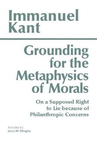 Grounding of Metaphysics of Morals