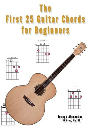 The First 25 Guitar Chords for Beginners