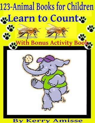 1 2 3 - Animal Books for Children, Counting. Children's books ages 2-4