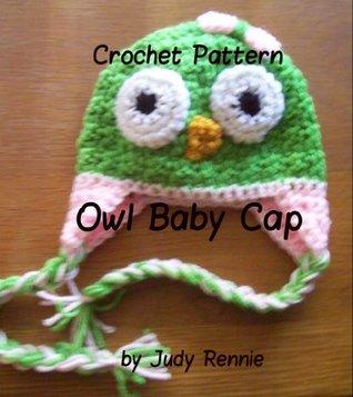 Crochet Pattern - Owl Baby Cap