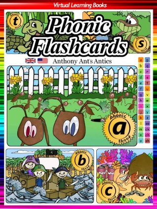 Phonic Flashcards (Phonic Sounds For Kids) (Phonic Ebooks: Flashcards For Children)