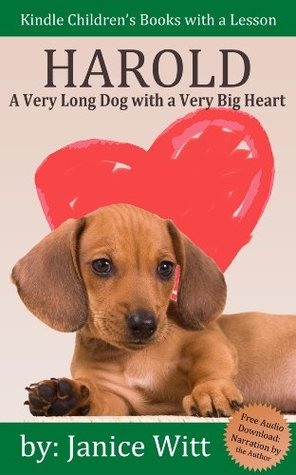 Dog Books for Kids: Harold - A Very Long Dog with a Very Big Heart: Fully Illustrated eBooks for Kids