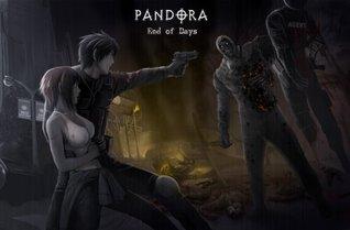 PANDORA: End of Days (volume 2) Manga Comic Book Graphic Novel