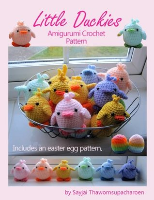 Little Duckies Amigurumi Crochet Pattern (Easy Crochet Doll Patterns Book 9)