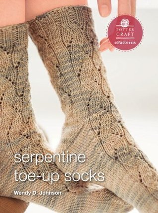 Serpentine Socks: E-Pattern from Socks from the Toe Up