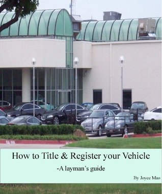How to Title & Register your Vehicle