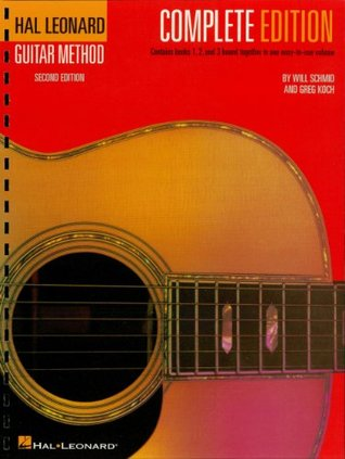 hal leonard guitar method complete edition books 1 2 and 3 bound together in one easy to use volume