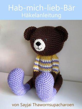 Hab-mich-lieb-Bär Häkelanleitung