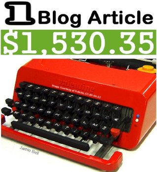 How I Made $1,530.35 from One Article On My Blog, and How You Can Do It Too - A Step-by-Step Beginner's Money Making Guide for Busy People...