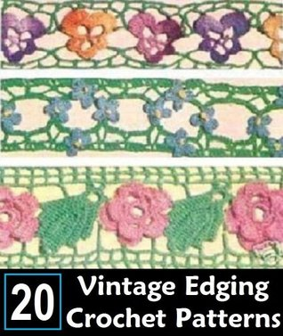20 EDGING & INSERTION PATTERNS - CROCHET / TATTING - VINTAGE 1949 - Downloadable Ebook