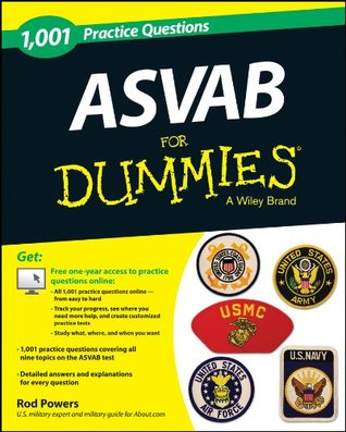 1,001 ASVAB Practice Questions For Dummies (For Dummies