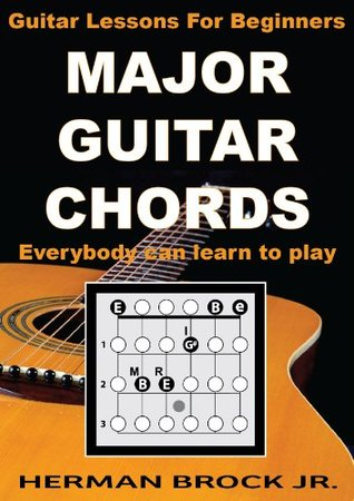 Major Guitar Chords - Guitar Lessons for Beginners: Everybody can learn to play major guitar chords for beginners