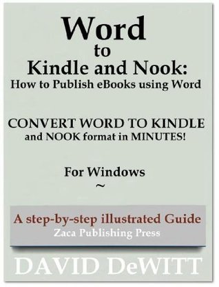 Word to Kindle and Nook: How to Publish eBooks using Word