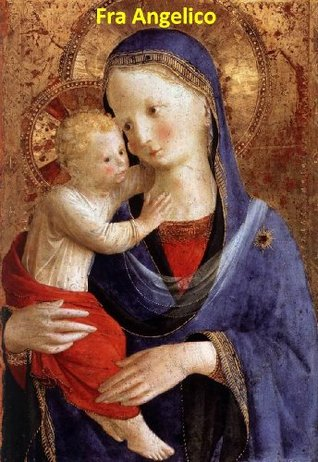 166 Color Paintings of Fra Angelico (Guido di Pietro) - Early Italian Renaissance Painter (c. 1395 - February 18, 1455)