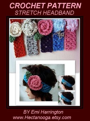 Crochet Pattern, Stretch Headband