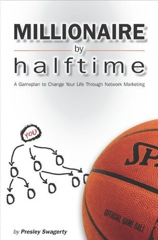 """Millionaire By Halftime """"A Gameplan to Change Your Life Through Network Marketing"""""""