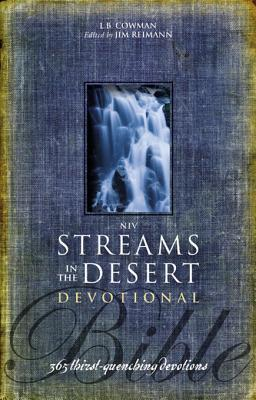 NIV Streams in the Desert Bible: 365 Thirst-Quenching Devotions