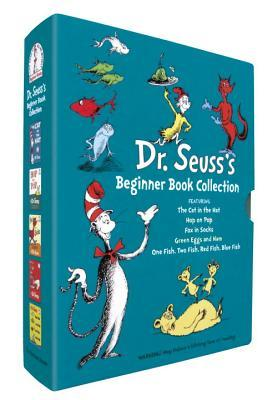 Dr. Seuss's Beginner Book Collection (Cat in the Hat, One Fish Two Fish, Green Eggs and Ham, Hop on