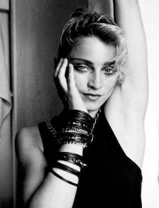 Richard Corman: Madonna NYC 83 por Richard Corman
