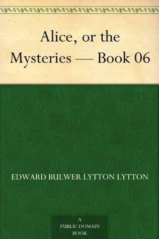 Download Epub Free Alice, or the Mysteries Book 06