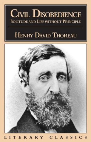civil disobedience thoreau quotes