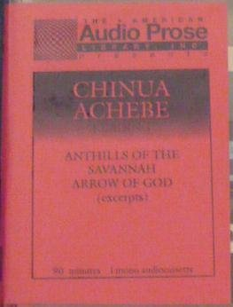 Chinua Achebe Reading Anthills of the Savannah and Arrow of God