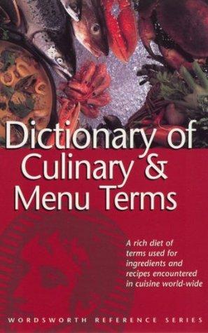 Dictionary of Culinary & Menu Items