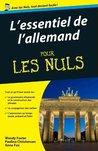 Essentiel de l'allemand Pour les Nuls (ESSENTIEL NULS) (French Edition)