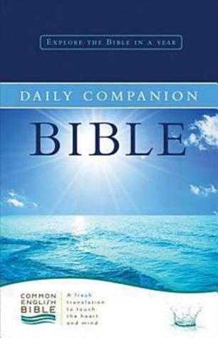 Common English Bible Daily Companion Bible Hardcover