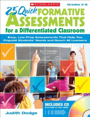 25 Quick Formative Assessments for a Differentiated Classroom Amazon kindle ebooks: