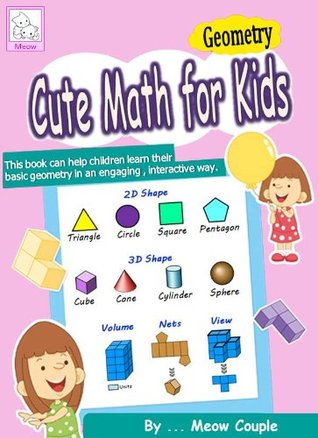 Cute math for kids : Geometry (INTERACTIVE Color Quiz E-book)