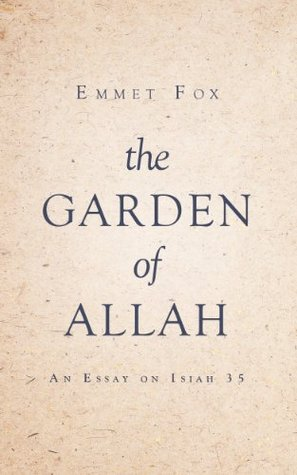 The garden of allah by emmet fox 19395957 fandeluxe Images