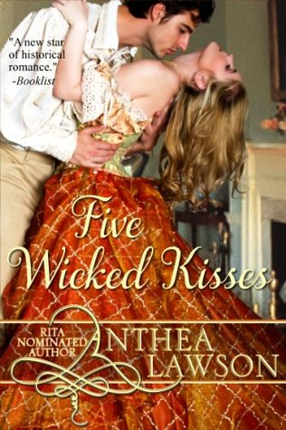 Five Wicked Kisses By Anthea Lawson