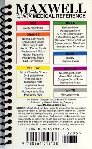Maxwell quick medical reference by robert w maxwell maxwell quick medical reference fandeluxe Image collections