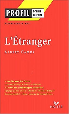 L' Etranger by Pierre-Louis Rey