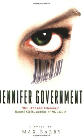Jennifer Government Book Cover