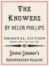 The Knowers (Electric Literature's Recommended Reading)