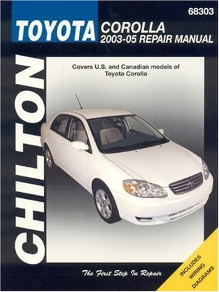 Toyota Corolla, 2003-05 Repair Manual