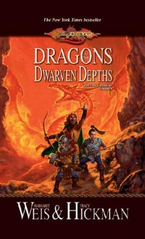 Dragons of the Dwarven Depths Book Cover