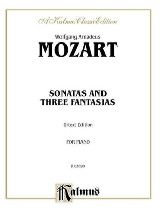 Sonatas and Three Fantasias