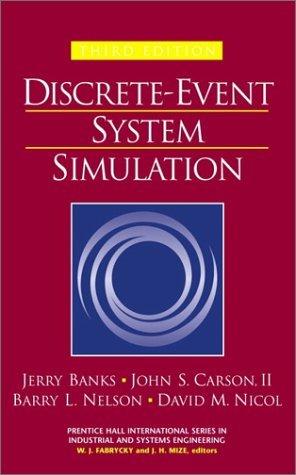 Discrete Event System Simulation Ebook