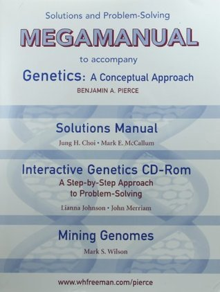 Solutions Manual & Interactive Genetics CD-Rom: to accompany Genetics: A Conceptual Approach