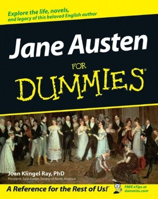 Jane Austen For Dummies by Joan Elizabeth Klingel Ray