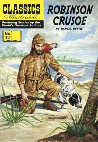 Robinson Crusoe (with panel zoom)			 - Classics Illustrated