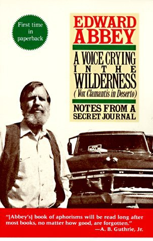 A Voice Crying in the Wilderness (Vox Clamantis in Deserto): Notes from a Secret Journal